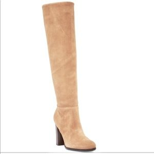 Sam Edelman Victoria Tall Suede Boot Size 8